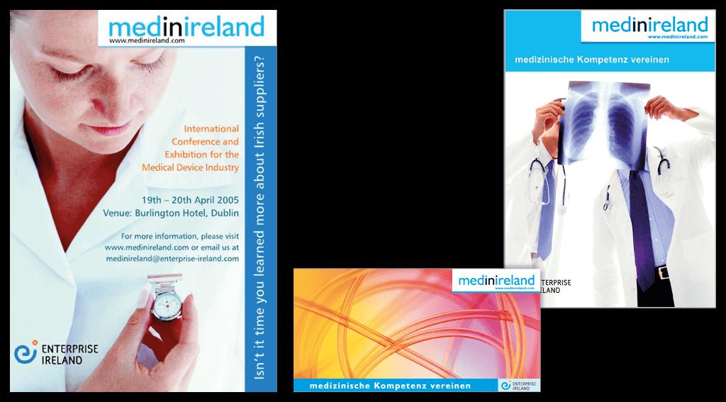 Enterprise Ireland | Handels- und Technologiezentrum | Plakate, Postkarte »MedinIreland«