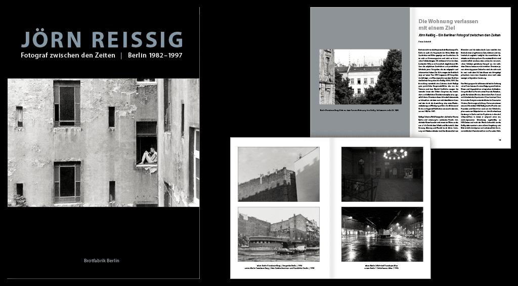 Brotfabrik Berlin | Gestaltung des 80-seitigen Fotobildbandes »Jörn Reißig«