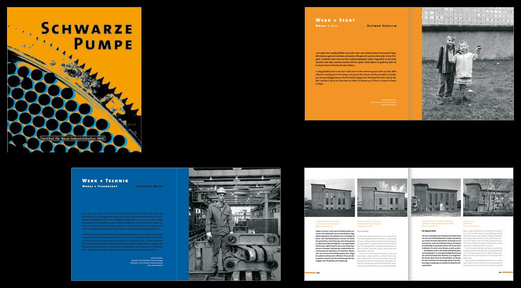 Vattenfall und INIK | Gestaltung des 136-seitigen Buches »Schwarze Pumpe«