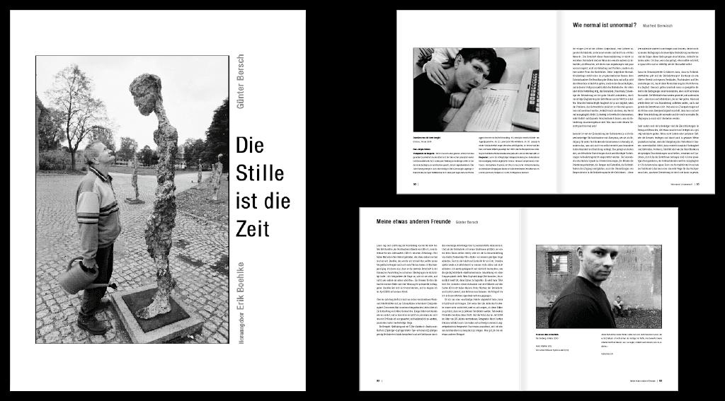 GIB e. V. | Gestaltung des Buches 128-seitigen Buches »Stille ist die Zeit«