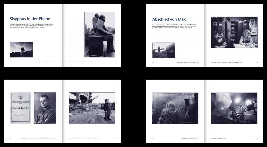 Ch.Links Verlag, Berlin | Gestaltung des 208-seitigen Buchinnenteils »Startbahn Ost«