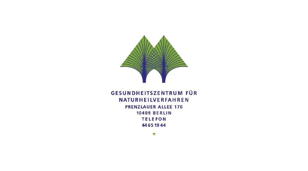 Gesundheitszentrum für Naturheilverfahren | Logoentwicklung