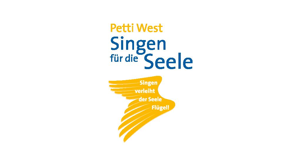 Petti West, Singen für die Seele | Logoentwicklung