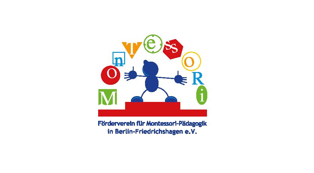 Förderverein für Montessori-Pädagogik in Berlin-Friedrichshagen e.V. | Logoentwicklung